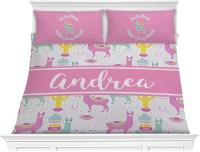Llamas Comforter Set - King (Personalized) - YouCustomizeIt