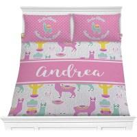 Llamas Comforter Set (Personalized) - YouCustomizeIt