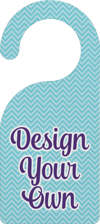Design Your Own Door Hanger Personalized  YouCustomizeIt