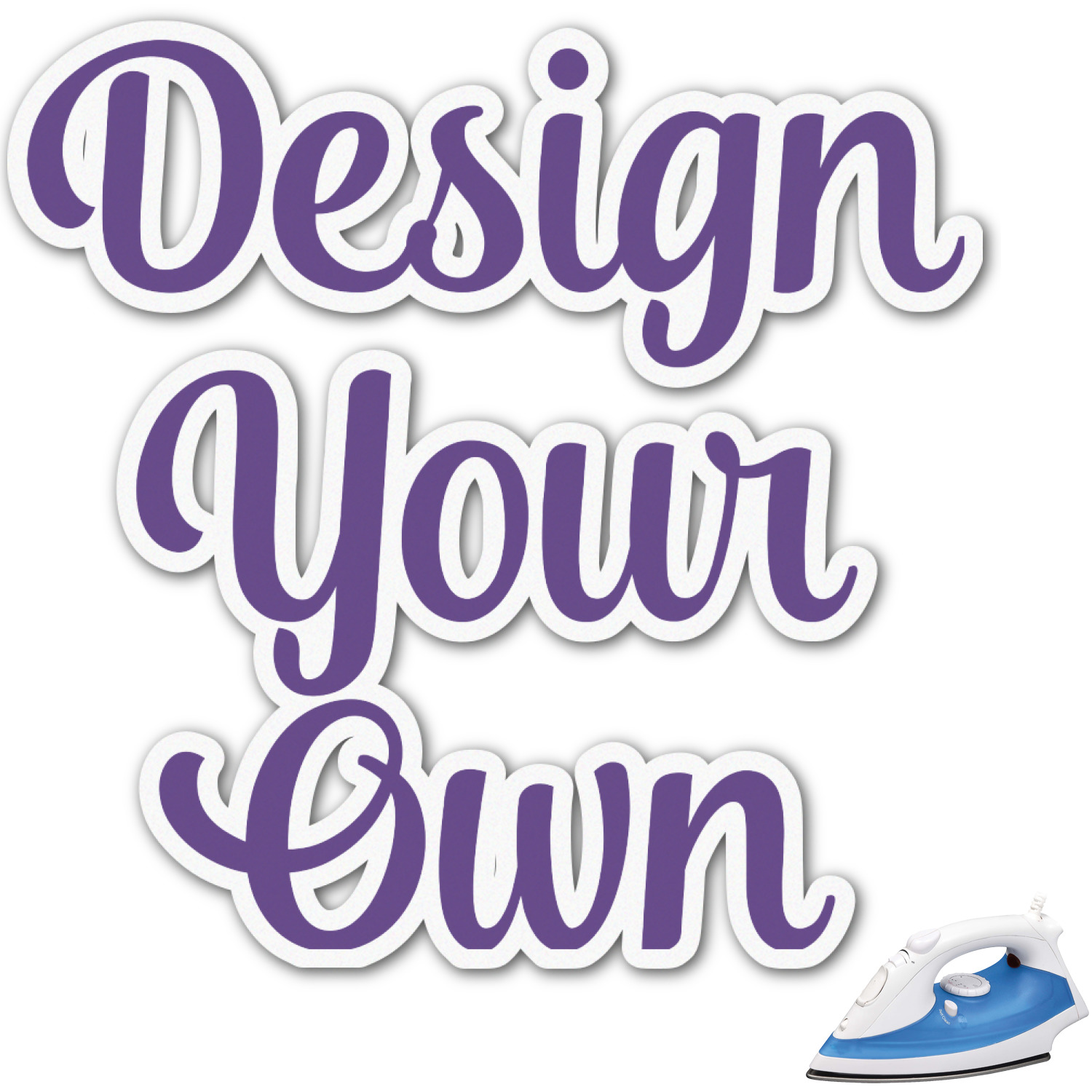 Design Your Own Graphic Iron On Transfer  Up to 9x9 Personalized  YouCustomizeIt