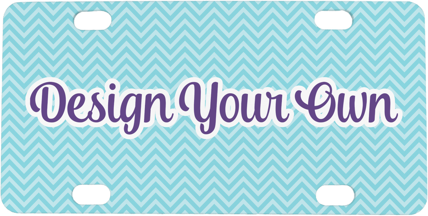 Design Your Own Mini  Bicycle License Plate Personalized  YouCustomizeIt
