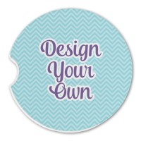Design Your Own Sandstone Car Coasters (Personalized ...
