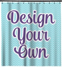 Design Your Own Shower Curtain (Personalized) - YouCustomizeIt