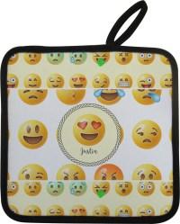 Emojis Pot Holder (Personalized) - YouCustomizeIt