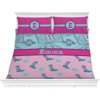 Cowgirl Comforter Set - King (Personalized) - YouCustomizeIt