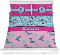 Cowgirl Comforter Set (Personalized) - YouCustomizeIt