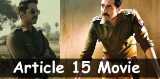 Article 15 Full Movie Download Telegram
