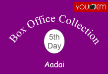 Aadai 5th Day Box Office Collection