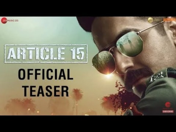 Article 15 Full Movie Download   Watch Article 15 Movie Online