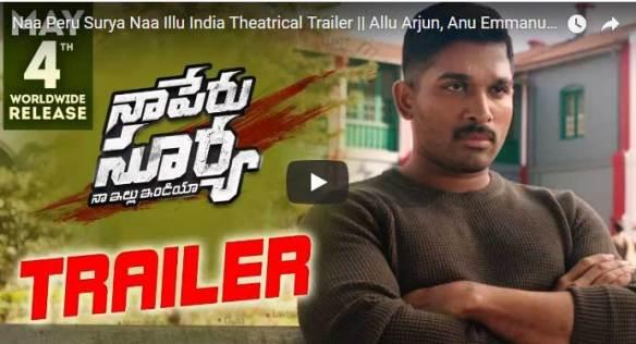 Na Peru Surya Na Illu India Full Movie Download, Watch Movie