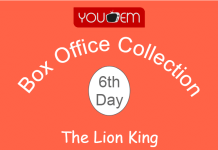 The Lion King 6th Day Box Office Collection