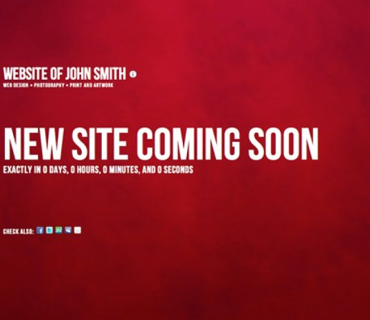 Upcoming new websites