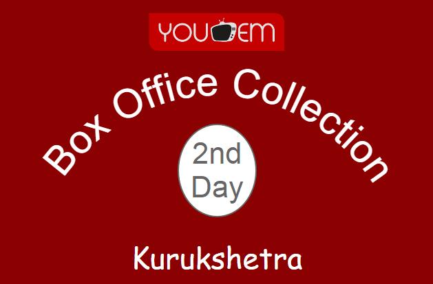 Kurukshetra 2nd Day Box Office Collection