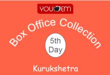 Kurukshetra 5th Day Box Office Collection
