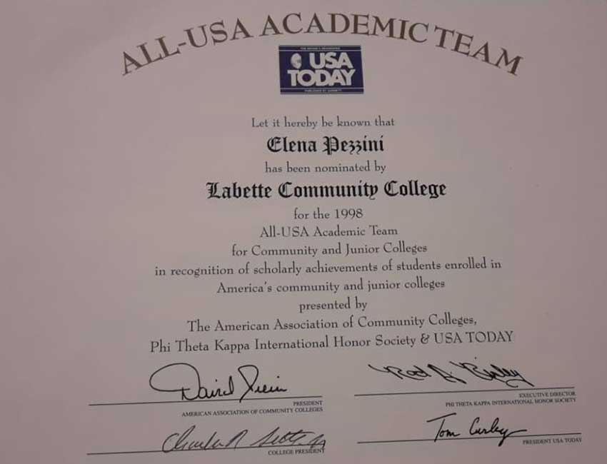 Elena-Pezzini-All-Usa-Academic