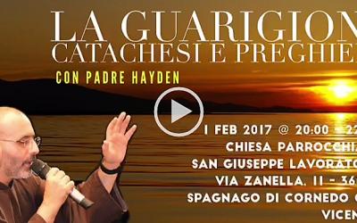 Ascolta l'invito di Padre Hayden per il seminario della Comunità Abramo in Italia
