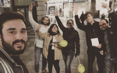 Notte di luce nel centro di Madrid!