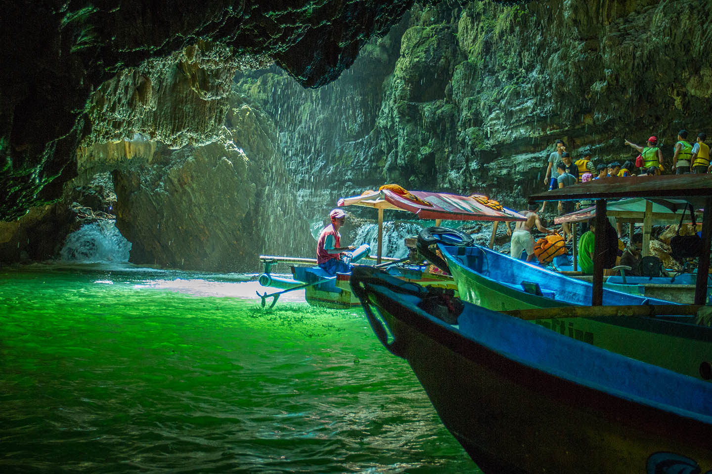 Beautiful Green Canyon of Java | Tourism Places