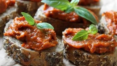 Photo of Pasta z suszonymi pomidorami.