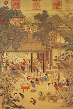 The Spring Festival in Ancient Chinese Paintings  Youlin Magazine