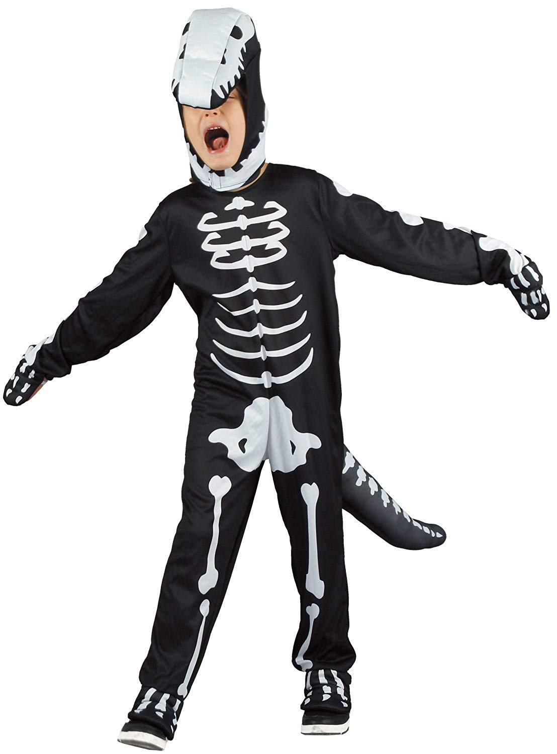 Scary Skeleton Halloween Costume For Kids