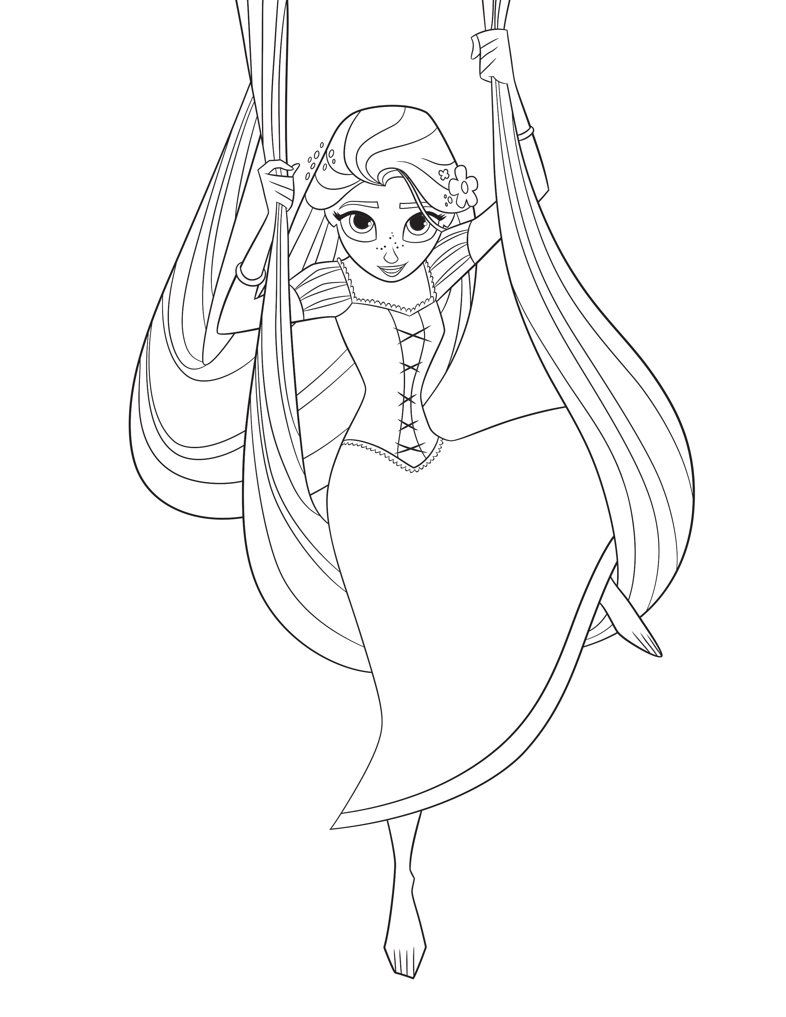 Tangled The Series Coloring Pages
