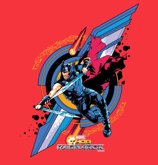 Official Ragnarok Thor Movie Art