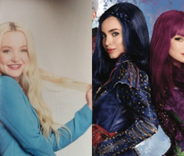 Parallels Sofia Carson And Dove Cameron In Descendants And In Real Jpg X Dove Cameron And
