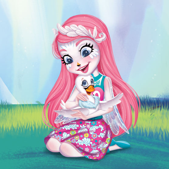 New Enchantimals In Cute Official Art