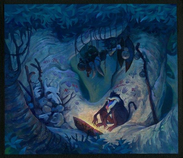 Disney Lion King Concept Art