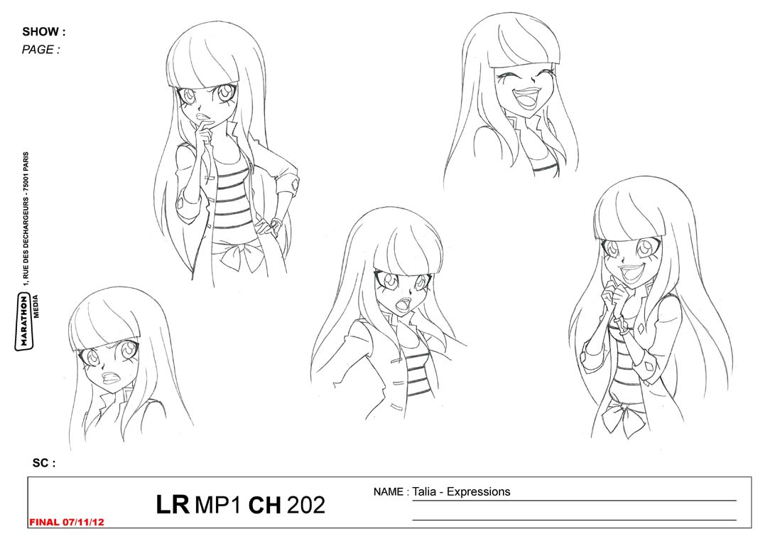 Lolirock Talia Coloring Coloring Pages