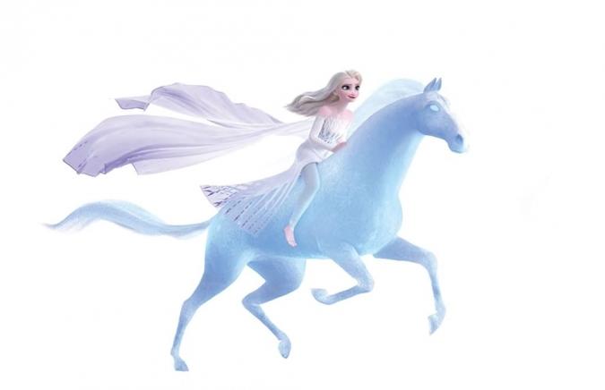 Холодное Сердце 2: 8 новых и больших картинок с Эльзой в белом платье и ...