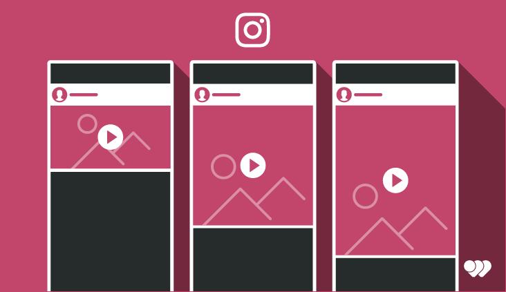 Format Instagram verticale, paysage ou carré