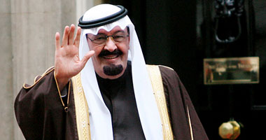 العاهل السعودى الملك عبد الله بن عبد العزيز