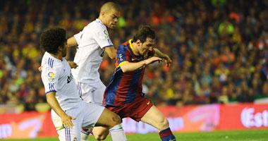 مباراة برشلونة وريال مدريد - صورة أرشيفية