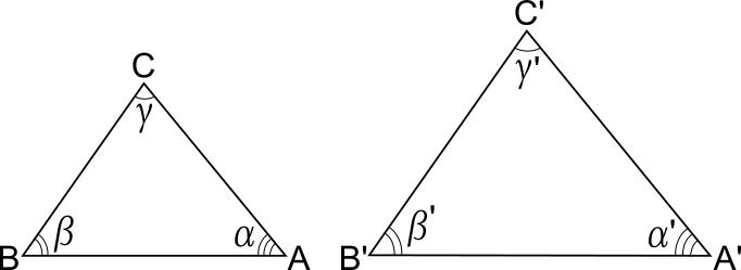 Criteri Di Similitudine Dei Triangoli