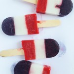 Red White Blue Popsicle Recipe for 4th of July
