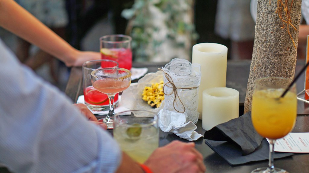 cocktails at secret summer nyc party