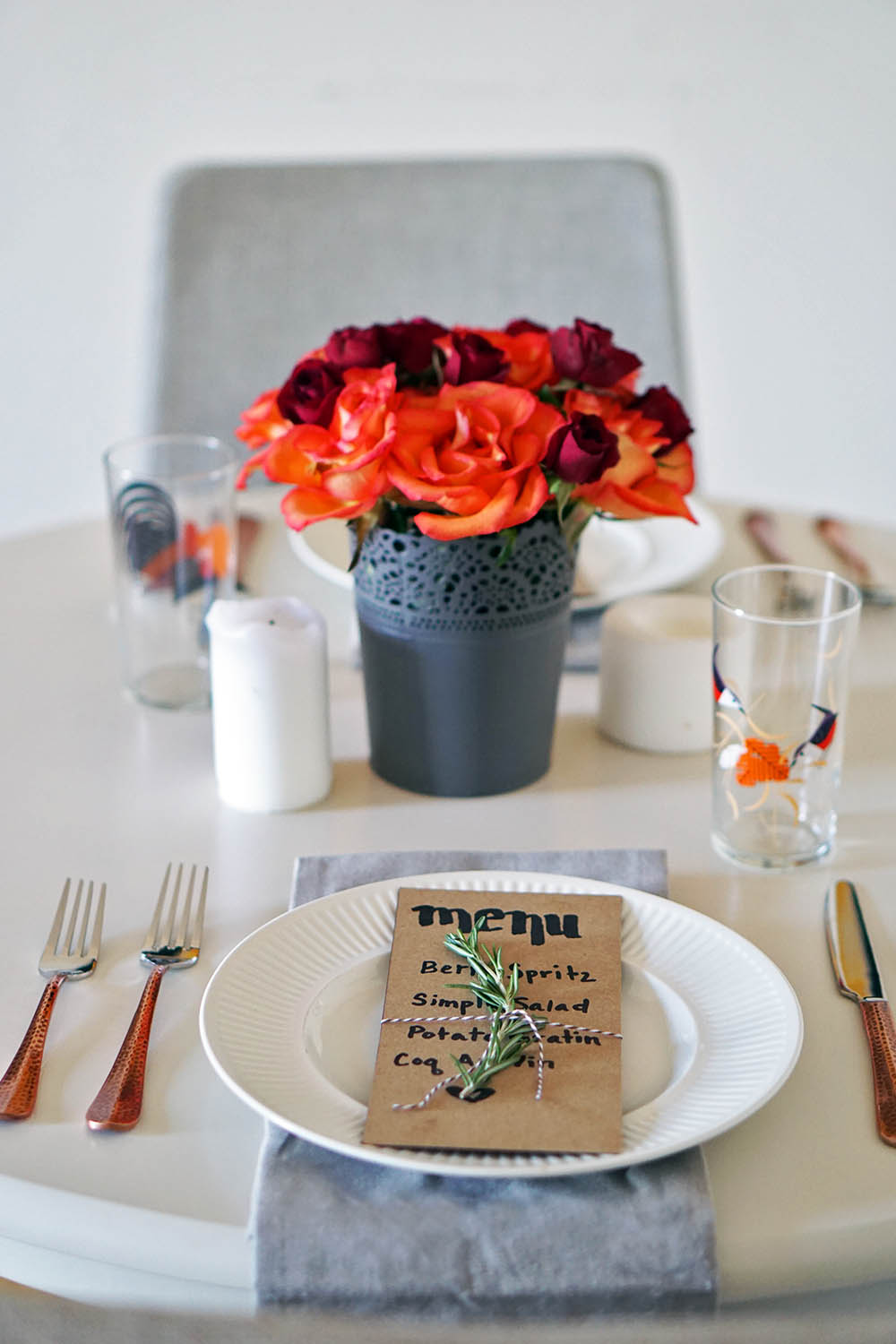 romantic table setting for two valentineu0027s day date ideas & TABLE FOR TWO: HOW TO CREATE A ROMANTIC TABLE SETTING - You Must ...