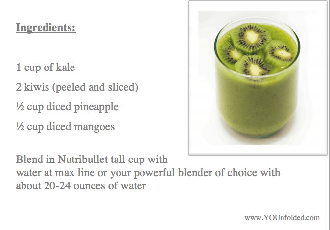 Gimme Kiwi Smoothie Recipe