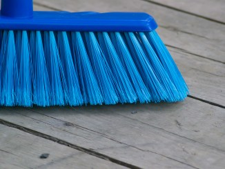 broom objects equipment sweeping cleaning problem work,