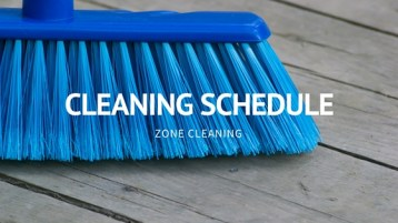 Cleaning Schedule Title