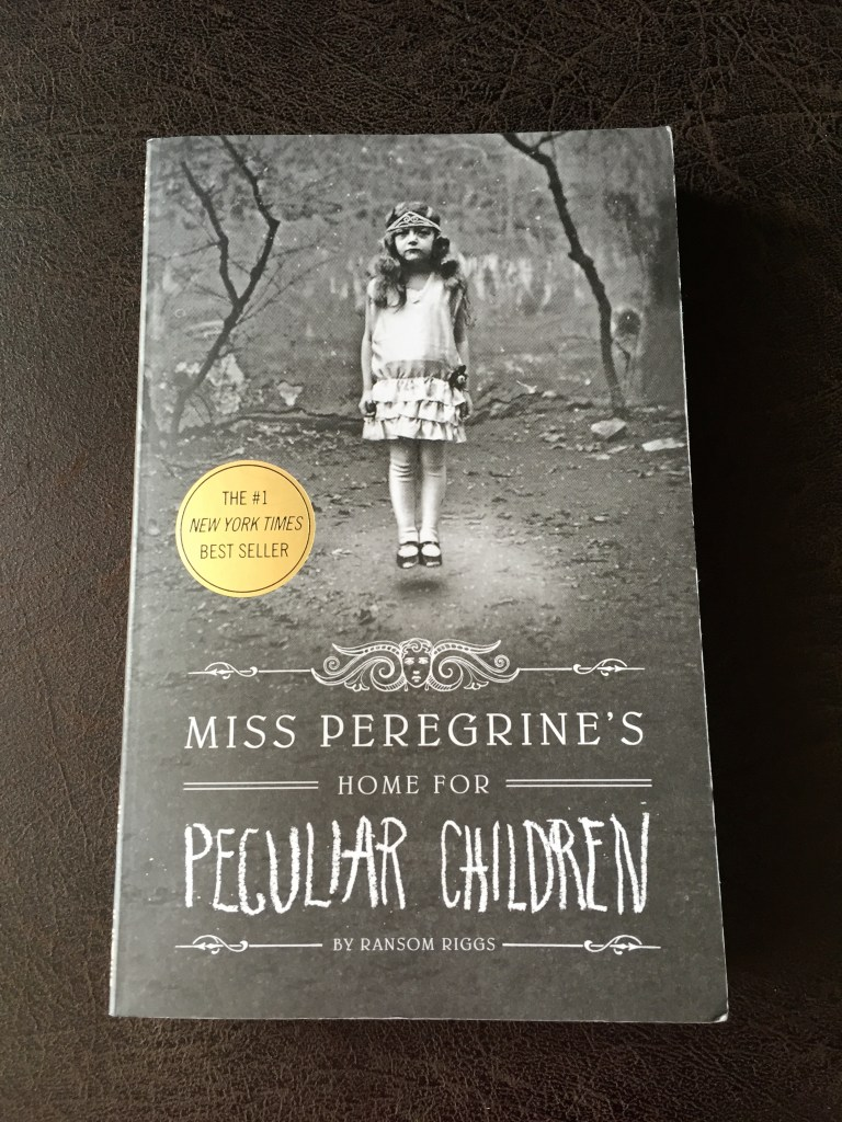 Miss Peregrine's Home for Peculiar Children book cover book review younfolded blog