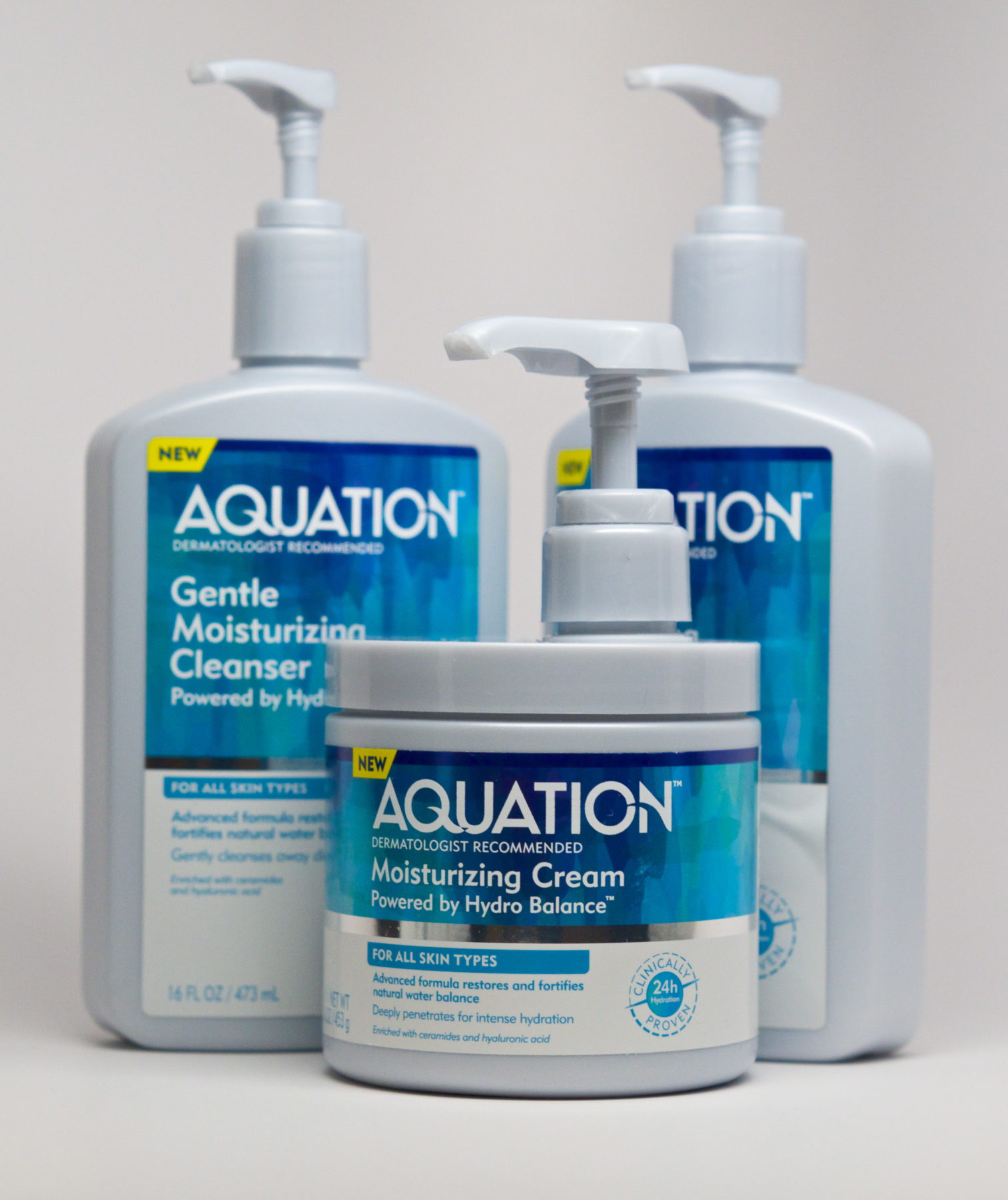 Aquation skin care products