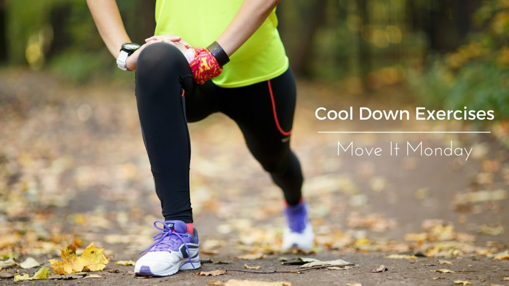 Cool down exercises move it monday woman stretching younfolded blog