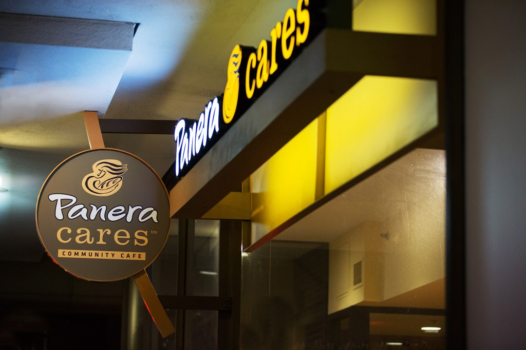 Panera Cares pay what you can cafe founded by Panera Bread in Boston