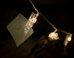 love note on string lights younfolded blog