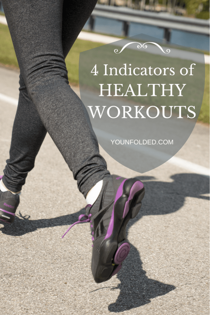 Find out if your workouts are healthy for you...