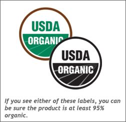 Certified Organic Labels