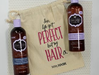 Hask chia seed shampoo & conditioner review younfolded blog